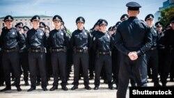 Церемонія присяги перших поліцейських України. Київ, 4 липня 2015 року