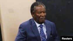 Бывший президент Замбии Майкл Сата