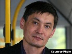 Szerik Medetbekov a Kazahsztáni Civil Társadalmi Koalícióból. A kép 2009 nyarán készült Drezdában