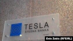 Tesla banka na zagrebačkom Kennedyjevom trgu