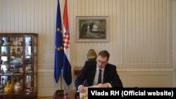 Aleksandar Vučić tijekom posjeta Zagrebu, 29. travnja 2013. (ilustrativna fotografija)