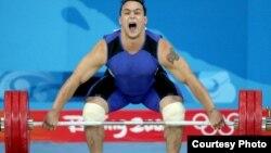 Илья Ильин, казахстанский тяжелоатлет, олимпийский чемпион XXIX Олимпийских игр в Пекине