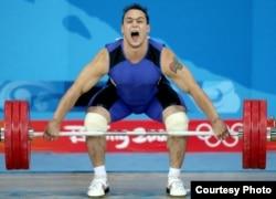 Қазақ спортшысы, 2008 жылғы Пекин олимпиадасының жеңімпазы Илья Ильин.