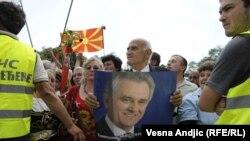 Pristalice Tomislava Nikolića uoči njegovog polaganja zakletve