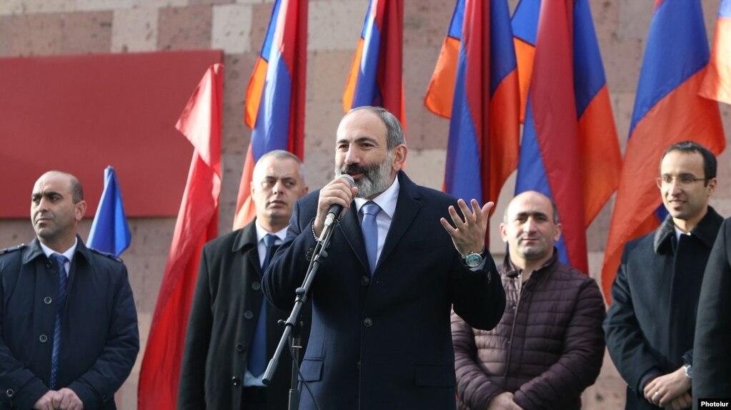 Пашинян пригласил ереванцев на шествие 24 ноября