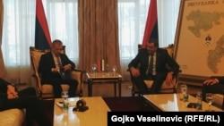 Susret Fahrudina Radončića i Milorada Dodik u Banjaluci, 6. mart