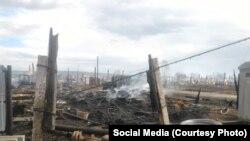 Разрушения в Красноярском крае