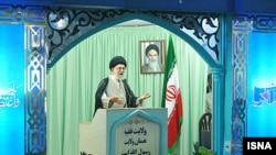 آيت الله علی خامنه ای، رهبر جمهوری اسلامی ايران