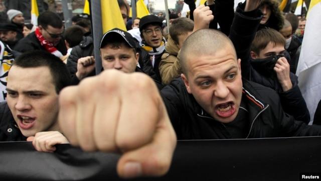 """""""Русский марш"""" 2012 года в Москве"""