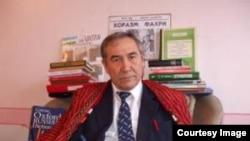 Доктор Ахмад Хасанов, известный больше как Ахмад хаджи Хорезми.