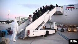 ورود ایرانیان ساکن چین به تهران