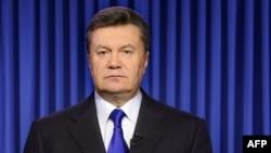 Украина президенті Виктор Янукович. Киев, 19 ақпан 2014 жыл.