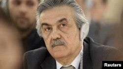 فیصل خباز الحموی، سفیر سوریه در سازمان های بین المللی در ژنو، در جریان جلسه اضطراری روز سه شنبه شورای حقوق بشر سازمان ملل