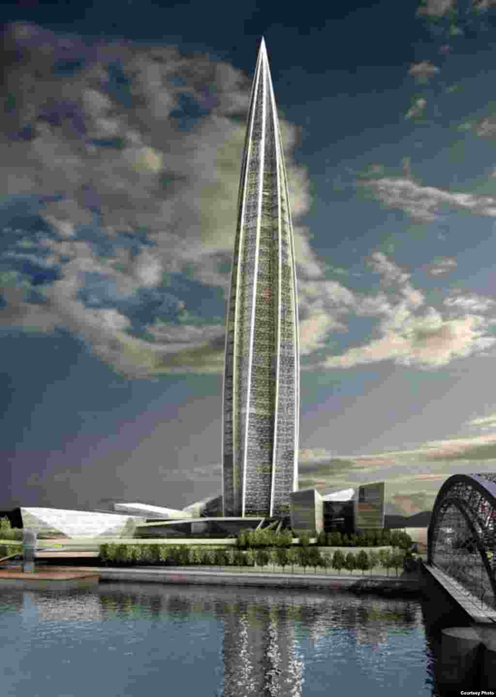 The new building should rise to a height of 426 meters and comprise 330,000 square meters of internal space.
