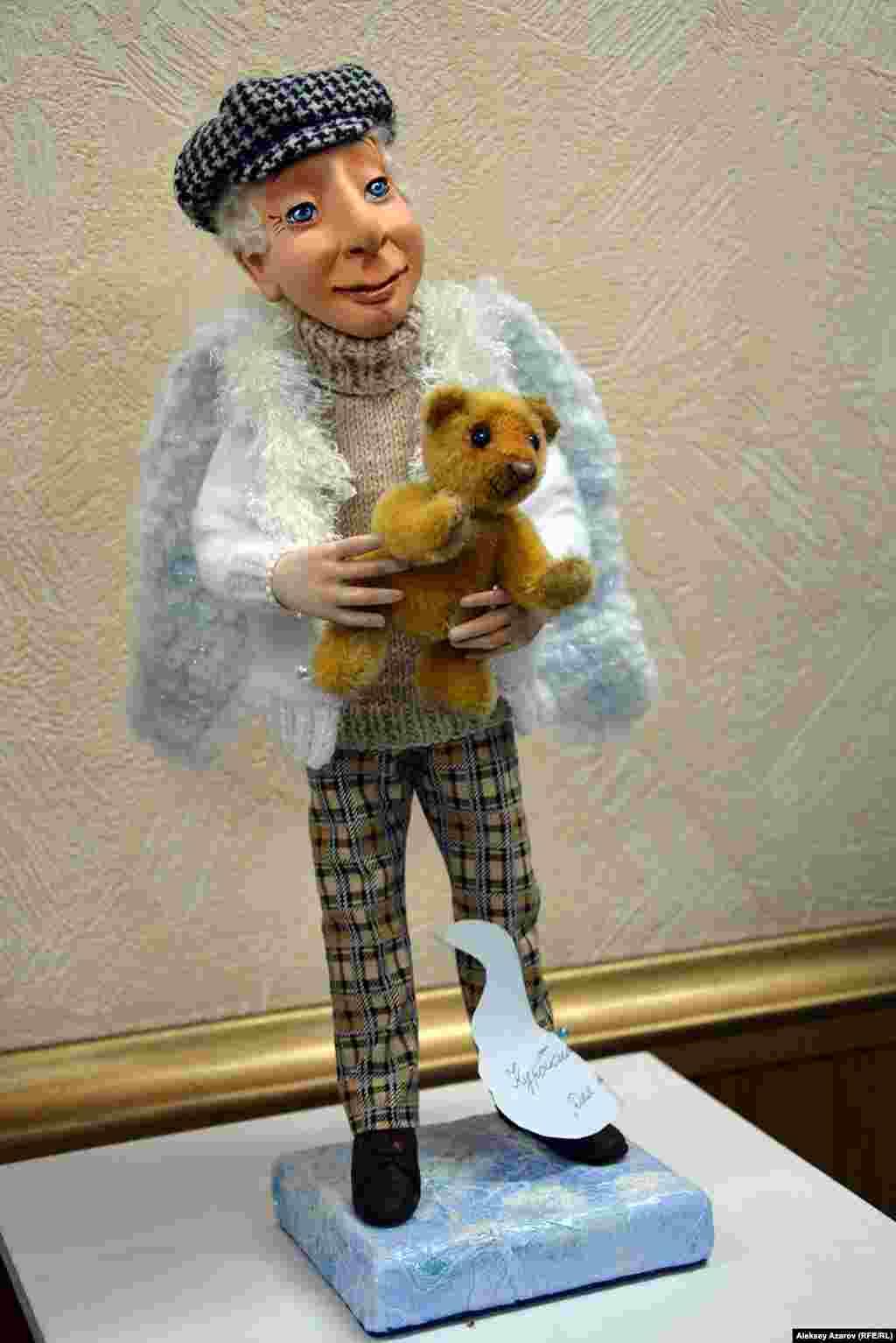 Кукла «Для тебя» Екатерины Курочкиной, отмеченная первым местом.
