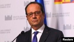 Франсуа Олланд, Франция пезиденті.