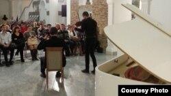 Выступ у Нацыянальным мастацкім музэі