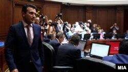 Архива - Премиерот Зоран Заев на седница на Владата на Република Македонија.