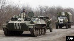 Отвод украинских войск вблизи Артемовска, 26 февраля 2015