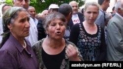 Акция протеста виноградарей (архив)