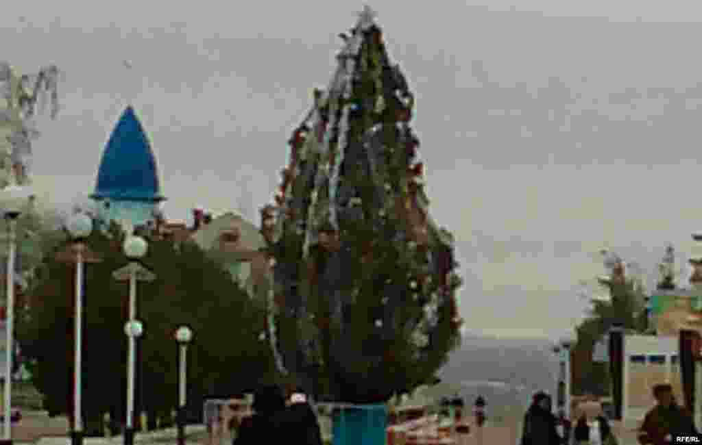 Казахстан - Новогодишна елка
