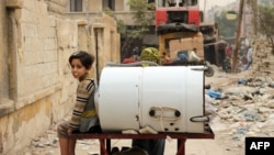 Ситуация в сирийском городе Алеппо, 7 ноября 2013