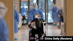 Госпіталь в Ухані, провінція Хубей, Китай, 10 лютого 2020 року