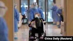 شفاخانهای در شهر ووهان چین