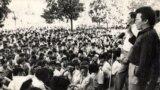 «Ала-Тоо» аянтындагы нааразылык жыйыны. 1990-жыл.