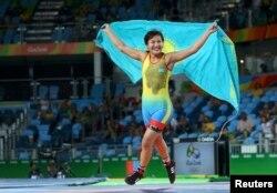 Эльмира Сыздықова. Рио олимпиадасы, 17 тамыз 2016 жыл.