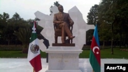 Azerbaijan paid $5 million to beautify the park where Aliyev's statue had been erected.