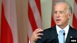 Vice-președintele Joe Biden la conferința de presă de la Varșovia