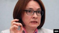 Председатель Центробанка РФ, Эльвира Набиуллина, 10 июня 2016 года.