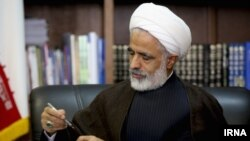 Majid Ansari, is an Iranian politician and cleric who was Rouhani's Vice President for Legal Affairs and currently a member of the arbitration council, EDC. File photo.