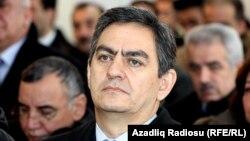 """""""Халық майданы"""" партиясының басшысы Әли Керимли. Әзербайжан, 4 ақпан 2012 жыл."""
