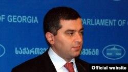 Спикер парламента Грузии Давид Бакрадзе
