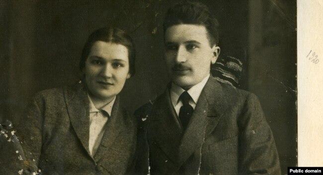 З жонкай. 1920 год