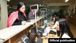 Armenia - A tax office in Yerevan, 8Nov2017.