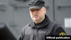 Ukraine's secretary of national security and defense, Oleksandr Turchynov