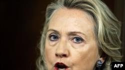 Американскикот државен секретар, Хилари Клинтон.