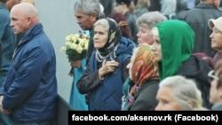 Траурный митинг по погибшим в Керченском политехническом колледже, 9 октября 2018 года
