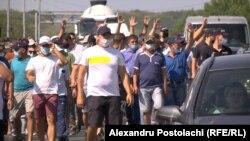 Протест фермеров, 14 августа 2020 года