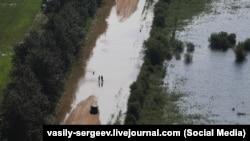 Разлив реки Амур (архивное фото)