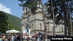 Лешочкиот манастир Свети Атанасиј.