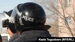 Сотрудники отдела полиции специального назначения. Иллюстративное фото.