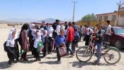 لیسه عالی شهرک خراسان کابل توسط مردم بسته گردید