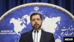 سخنگوی وزارت خارجه ایران، آمریکا را به داشتن «استانداردهای دوگانه» متهم کرده است.