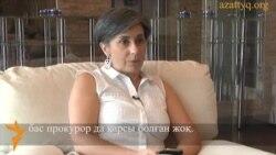 Исабель Сантоспен сұхбат