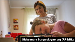 Екатерина Есипенко с дочерью Стефанией