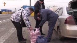Товарна блокада – ситуація на адмінкордоні з Кримом (відео)